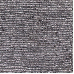 Hand-crafted Solid Grey Casual Ridges Wool Rug (6' x 9') - Thumbnail 1