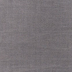 Hand-crafted Solid Grey Casual Ridges Wool Rug (6' x 9') - Thumbnail 2