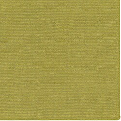 Hand-crafted Moss Green Solid Casual Ridges Wool Rug (8 'X 11') - Thumbnail 1