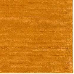 Hand-crafted Yellow Solid Casual Ridges Wool Rug (5' X 8') - Thumbnail 1
