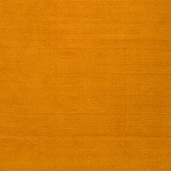 Hand-crafted Yellow Solid Casual Ridges Wool Rug (5' X 8') - Thumbnail 2