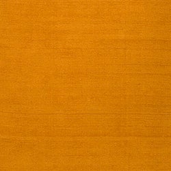Hand-crafted Yellow Solid Casual Ridges Wool Rug (7'6 X 9'6) - Thumbnail 2