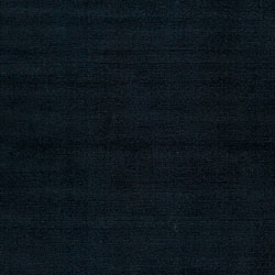 Hand-crafted Navy Blue Solid Causal 'Ridges' Wool Rug (9' x 13') - Thumbnail 2