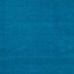 Hand-crafted Teal Blue Solid Casual 'Ridges' Wool Rug (8' x 11') - Thumbnail 2