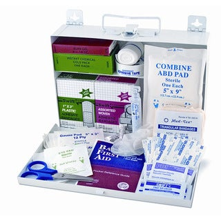 MABIS DuroMed 25-person Metal First Aid Kit