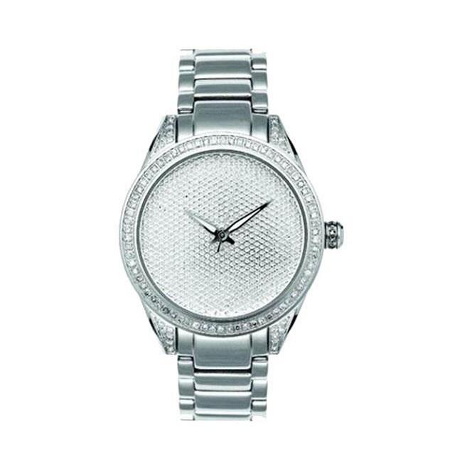 Joe Rodeo Women's Stainless Steel Diamond Watch
