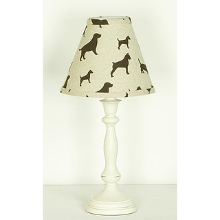 Cotton Tale Houndstooth Lamp and Shade