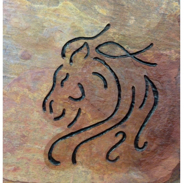 Horse Art- Abstract Horse Stone Carving for the Horse Lover- Custom Tile