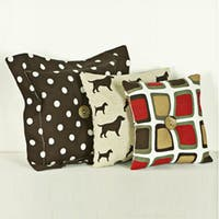 Cotton Tale Houndstooth Pillow Set (Pack of 3)