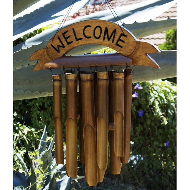 Bamboo 'Welcome' Chime (Indonesia)