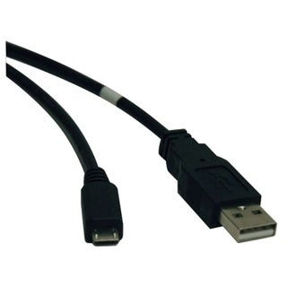 Tripp Lite 10ft USB 2.0 Hi-Speed Cable A Male to USB Micro-B M/M
