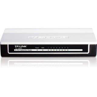 TP-LINK TL-R860 Advanced 8-Port Cable/DSL Router, 1 WAN Port, 8 LAN P