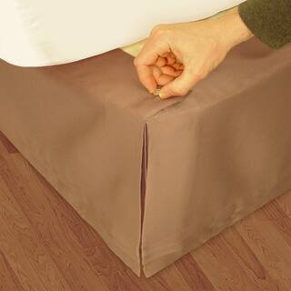 Veratex 'Hike Up Your Skirt' Matte Satin Adjustable 17-inch Drop King-size Bedskirt|https://ak1.ostkcdn.com/images/products/5657104/P13406906.jpg?impolicy=medium