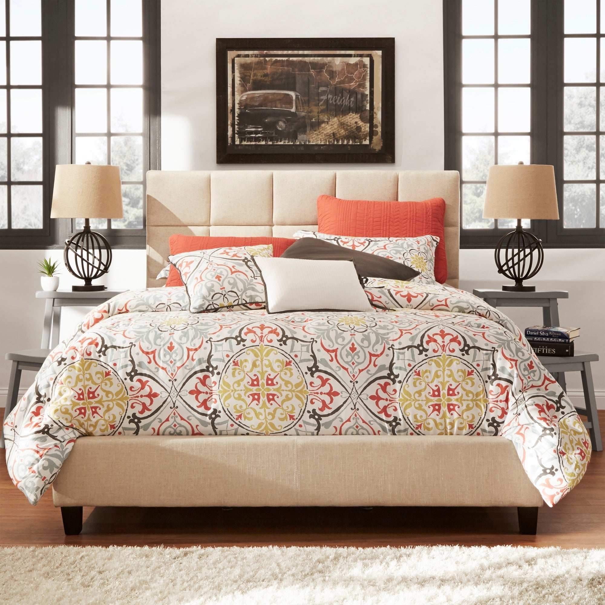 Fenton-Column-Upholstered-Platform-Bed-by-iNSPIRE-Q-