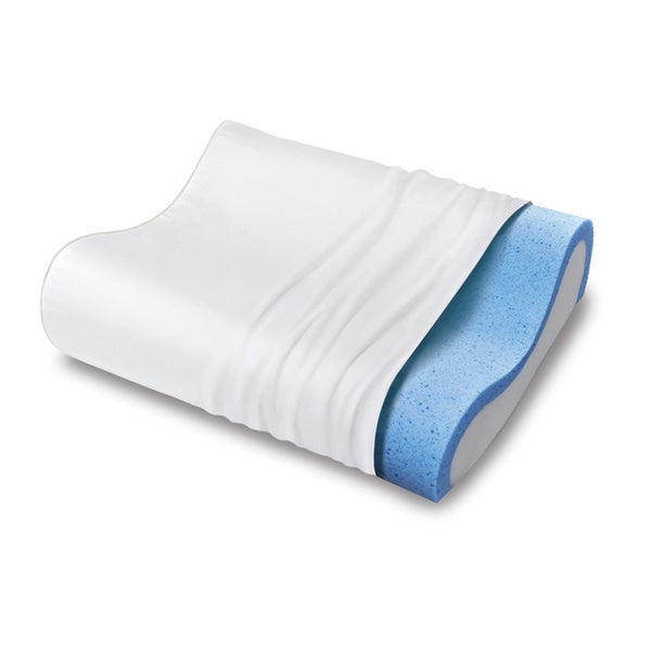 Essentials Contour Gel Memory Foam Pillow