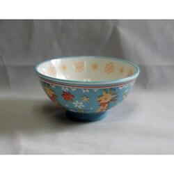 Children's Baby Blue Ceramic Giraffe Bowls (Pack of 2)