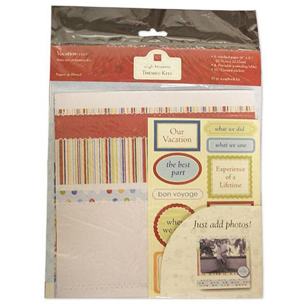 Chatterbox Vacation Themed Scrapbooking Kit