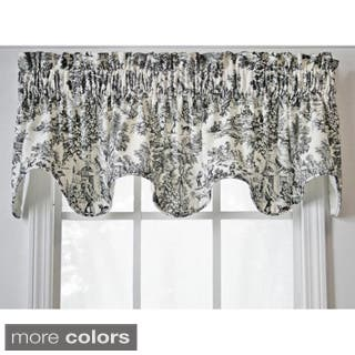 Ellis Curtain Victoria Park Scallop Valance|https://ak1.ostkcdn.com/images/products/5658594/P13408073.jpg?impolicy=medium