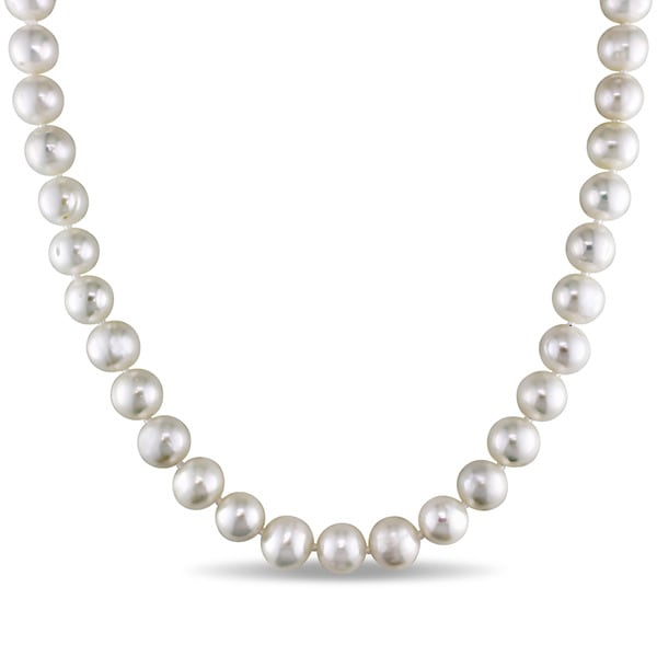 M by Miadora White Cultured Freshwater Pearl Necklace (18-24 inch)