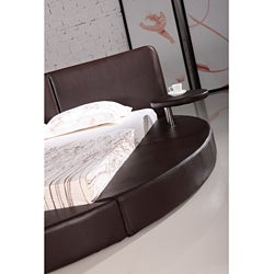 Oslo Round King Leatherette Bed