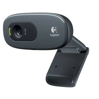 Logitech C270 HD 720p USB Webcam|https://ak1.ostkcdn.com/images/products/5659320/P13408537.jpg?impolicy=medium
