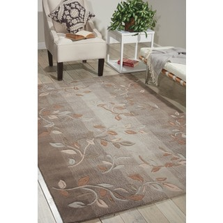 Nourison Hand-tufted Contours Stone Rug (7'3 x 9'3)