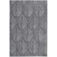 Nourison Hand-Tufted Contours Transitional Slate Rug - 8' x 10'6