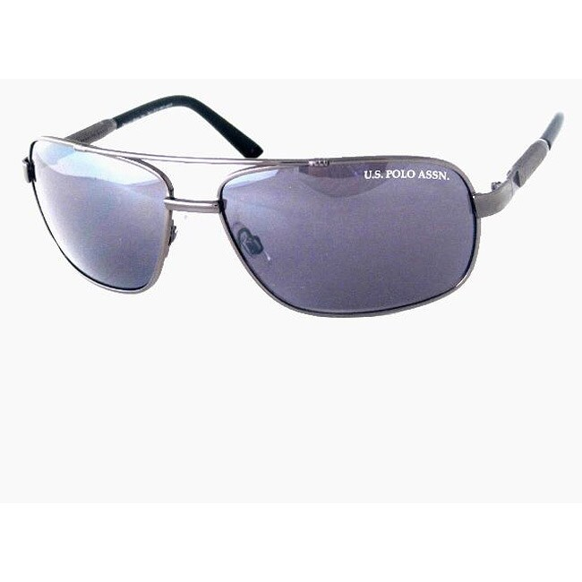 US Polo Men's 'Hilton Head' Aviator Sunglasses