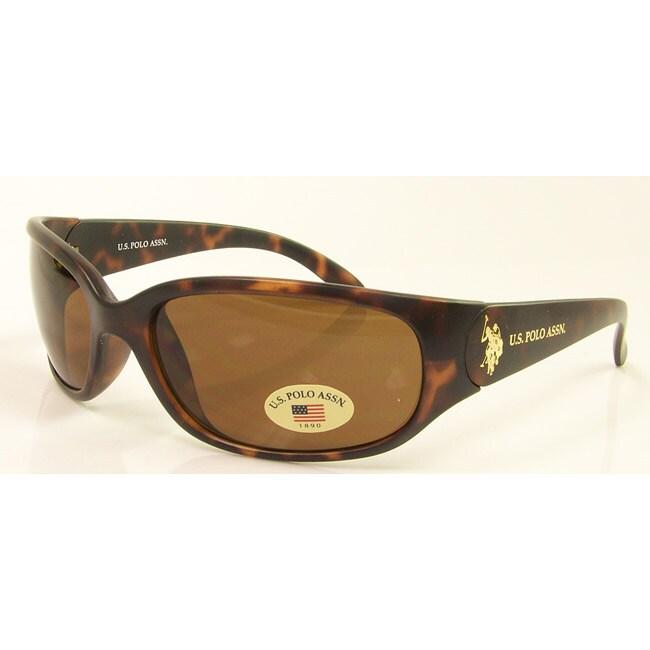 US Polo Unisex 'Miamar' Wrap Sunglasses