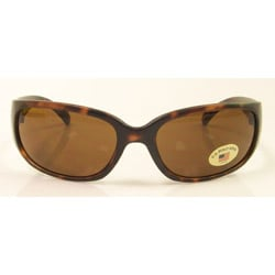 US Polo Unisex 'Miamar' Wrap Sunglasses - Thumbnail 2