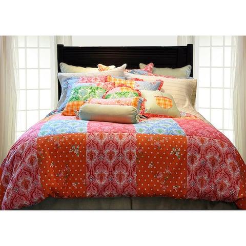 Pointehaven Clarissa 8-piece Oversized Comforter Set