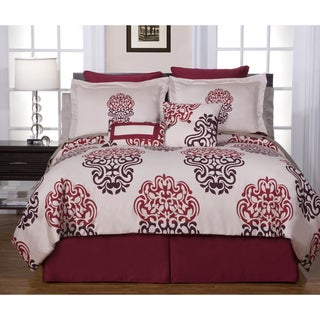 Cherry Blossom 12-piece Full-size Bed in a Bag with Sheet Set