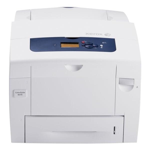 Xerox ColorQube 8570DN Solid Ink Printer - Color - 2400 dpi Print - P