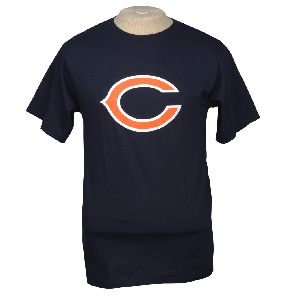 Reebok Chicago Bears Navy Logo T-shirt