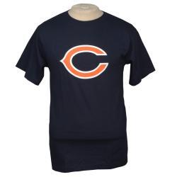 Reebok Chicago Bears Navy Logo T-shirt - Thumbnail 0