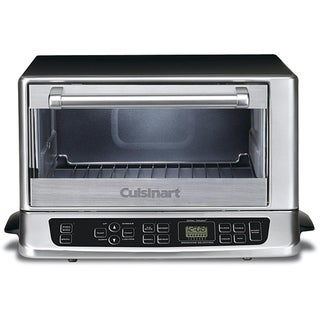 Cuisinart TOB-155 Stainless Steel and Black Toaster Oven