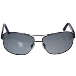 Bolle Quantum Men's Gunmetal Aviator Sunglasses - Thumbnail 1