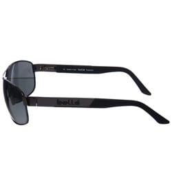 Bolle Quantum Men's Gunmetal Aviator Sunglasses - Thumbnail 2