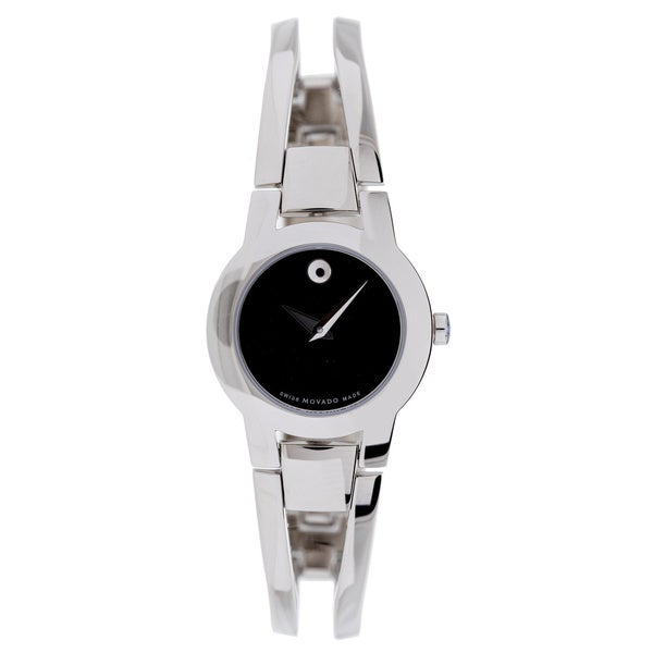 Movado Women's 0604759 Amorosa Stainless Steel Watch - silver