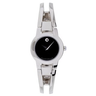 Movado Women's Amorosa Stainless Steel Watch - silver