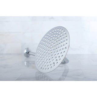 Victorian Chrome 8-inch Shower Head w/ Shower Arm