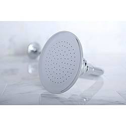 Chrome Victorian 4.5-in Shower Head with Shower Arm
