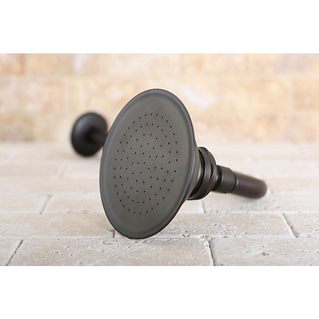 Shop Oil Rubbed Bronze Victorian 4.5-in Shower Head With Shower Arm