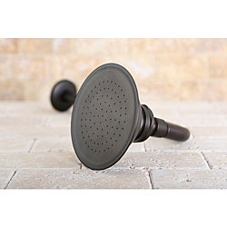 Oil Rubbed Bronze Victorian 4.5-in Shower Head with Shower Arm