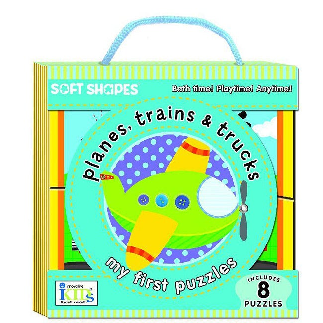 Soft Shapes 'Planes, Trains and Trucks' Puzzles