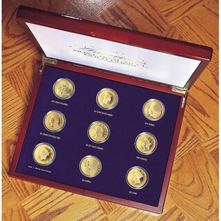 American Coin Treasures Tribute to America's Most Beautiful Gold Coins (Set of 9)