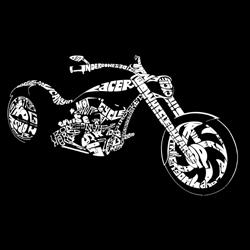 Los Angeles Pop Art Women's Motorcycle T-Shirt