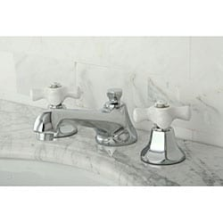 Metropolitan Chrome Widespread Bathroom Faucet - Thumbnail 1