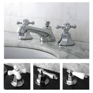 faucets bathroom. Metropolitan Chrome Widespread Bathroom Faucet Faucets For Less  Overstock com