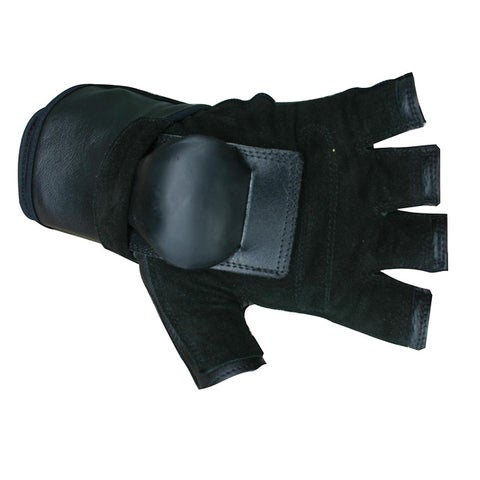 MBS Small Half-finger Black Hillbilly Wrist Guard Gloves